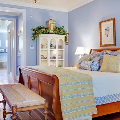French Country Blue And Yellow Decor Design Ideas