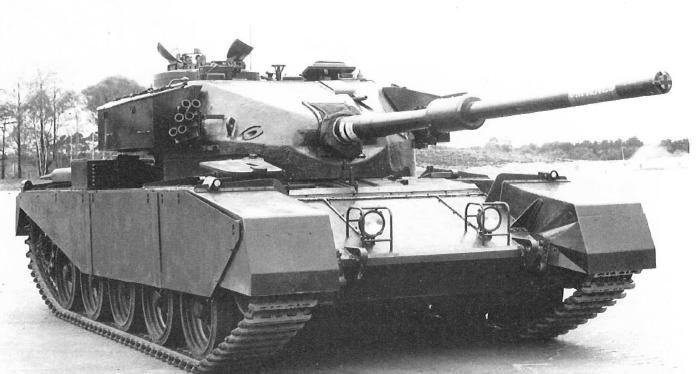 Fv4202 Experimental Tank On The Basis Of The Centurion Medium