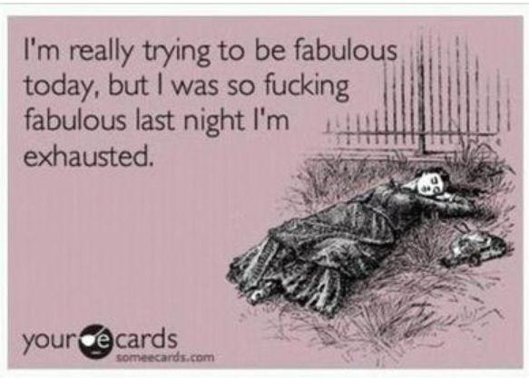 I'm fabulous: ecard : lol