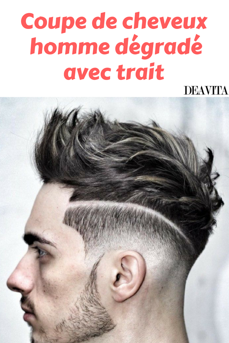Coupe de cheveux new wave homme