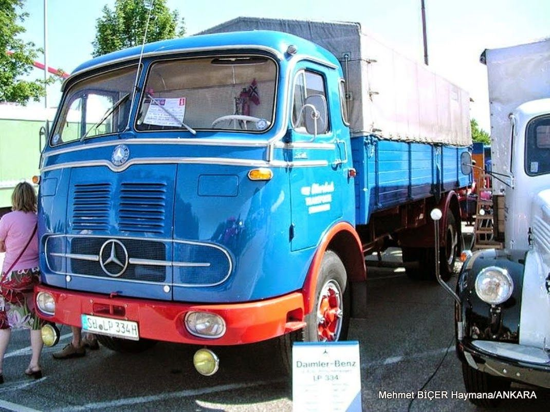 1960 mercedes lp 334
