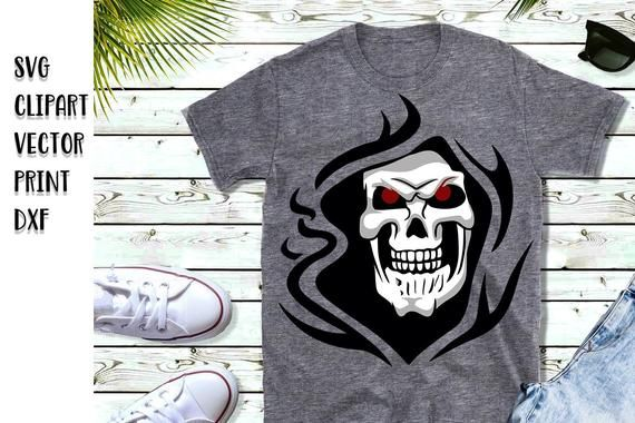 91bbf929 image 0 Airbrush T Shirts, Skull Shirts, Design Quotes, Iron On Transfer,