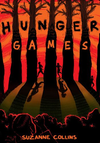 Pretty cool fan-made cover of The Hunger Games books and their
