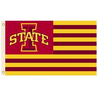 Bsi Products Ncaa 3 Ft X 5 Ft Iowa State Flag 95622 The Home Depot In 2020 Iowa State Iowa State Cyclones Neoplex