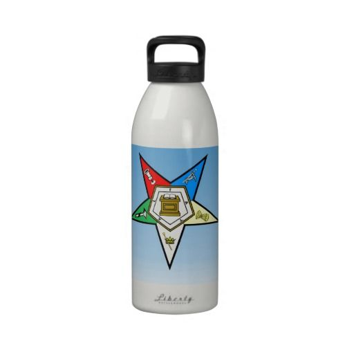 OES Order of the Eastern Star Blue Reusable Water Bottles