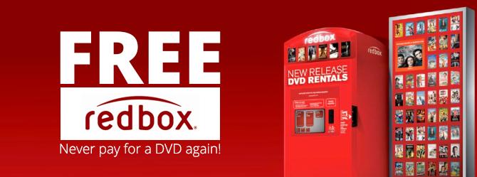 GoneFree Redbox Rental! Free redbox rental, Free redbox