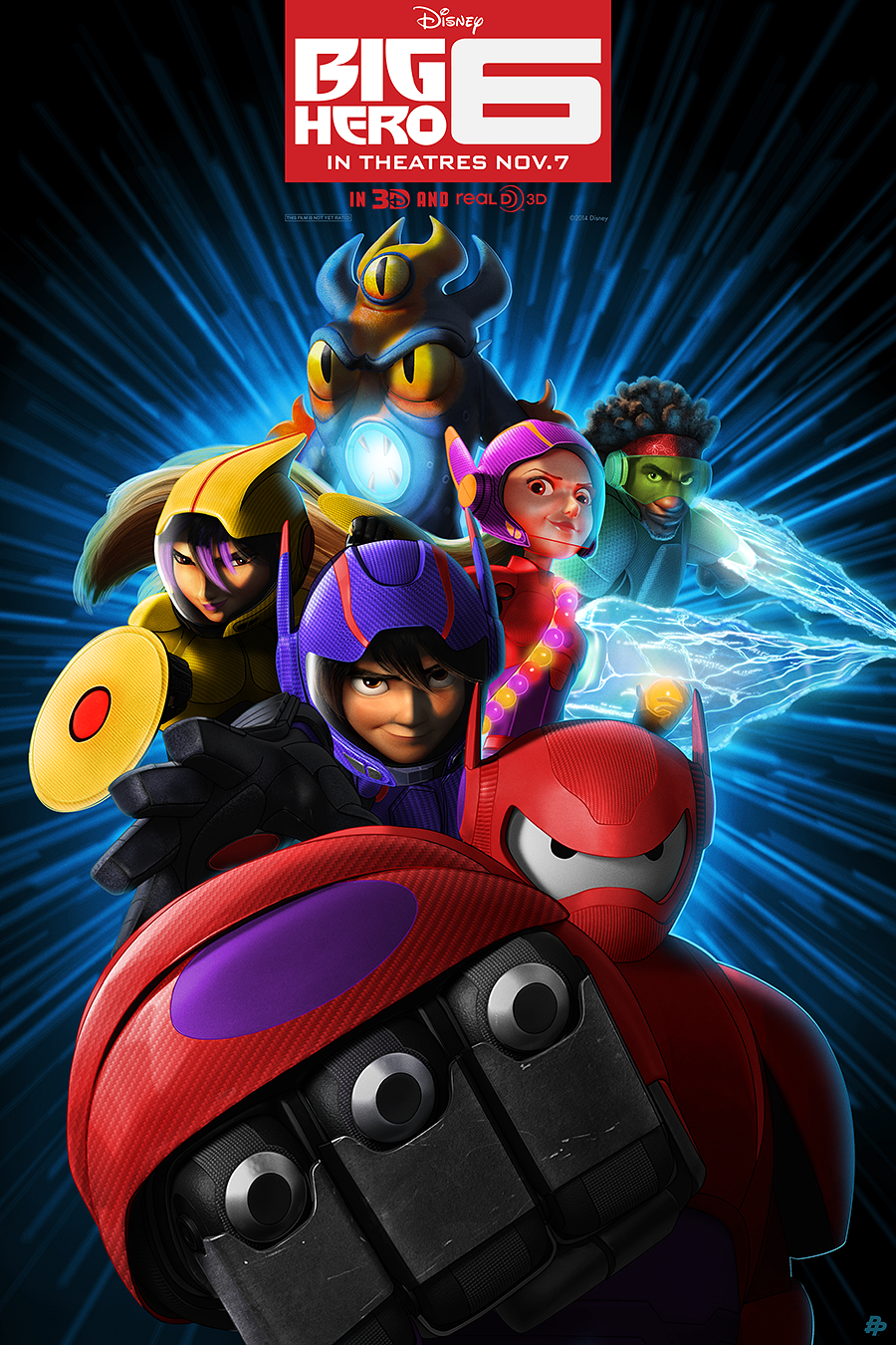 Big Hero 6 poster | Big Hero 6 | Pinterest | Hero, Big and ...