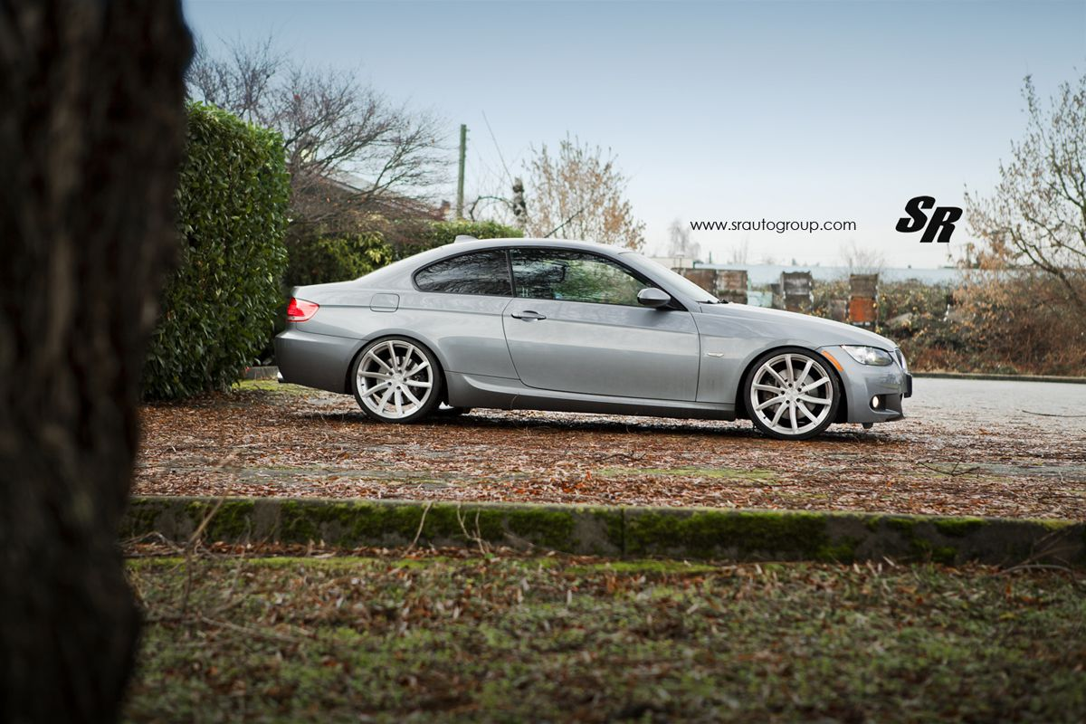 Featured Fitment: E92 BMW 335i w/ PUR RS08 Forged Wheels