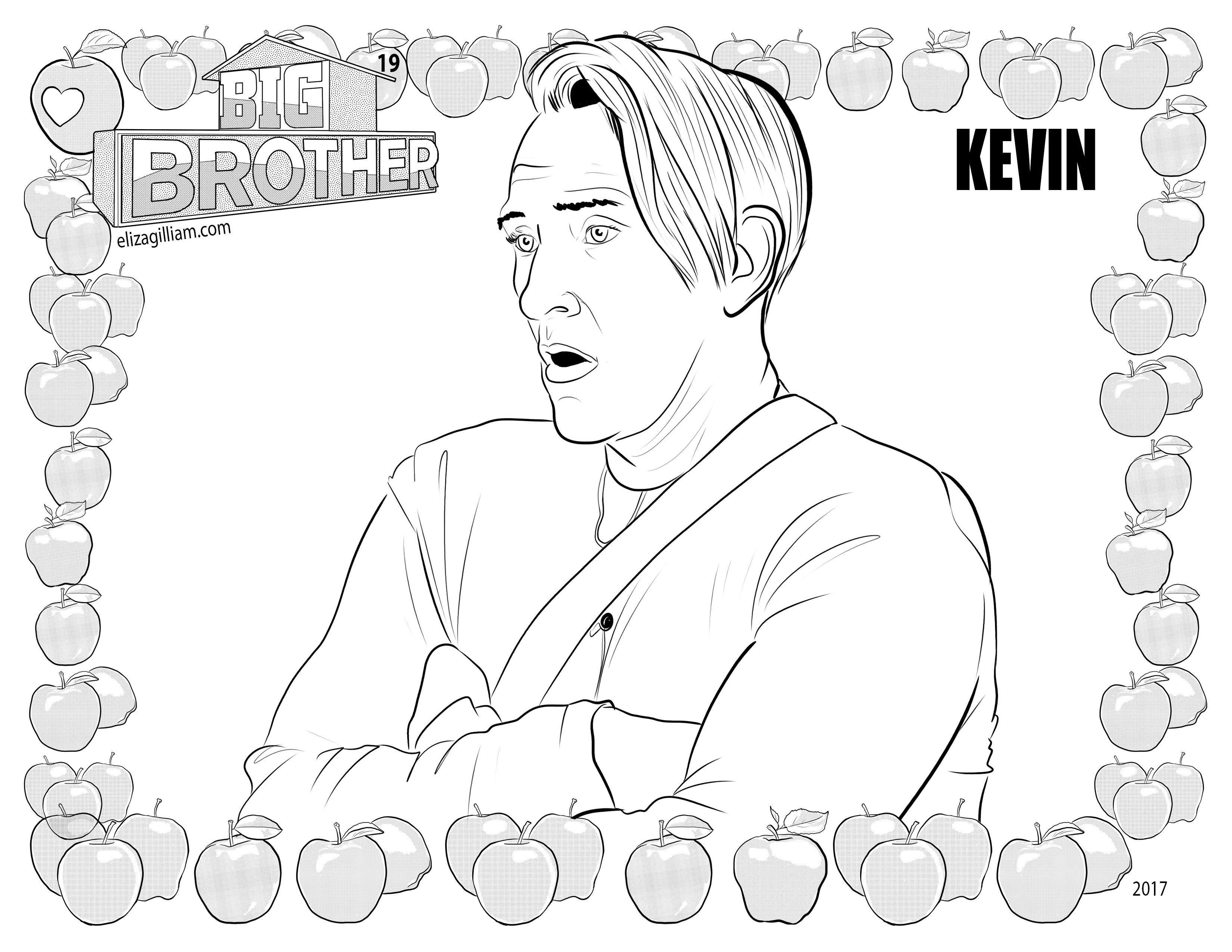 brother coloring pages - photo#45