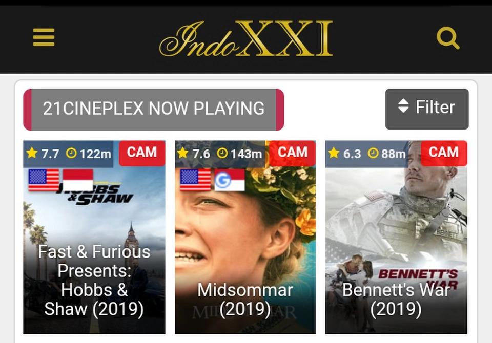 Indoxxi Layarkaca21 Dan Situs Download Film Ganool Movie Page 2 Kaskus Film Film Perang Film Petualangan