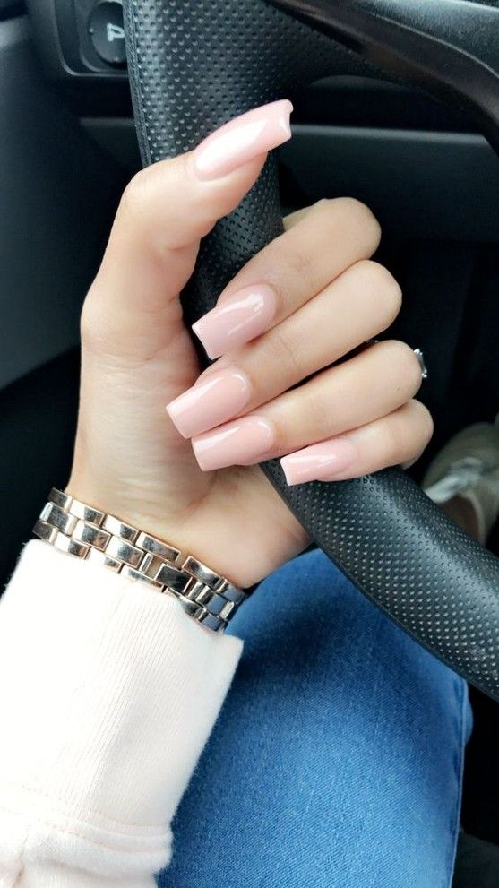 70+ Summer Best Stunning Square Nails Design include Acrylic Nails and Matte Nails – Page 20 of 71