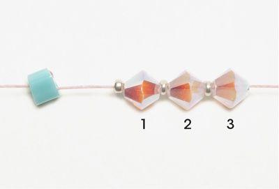 Crystal lattice bracelet 1