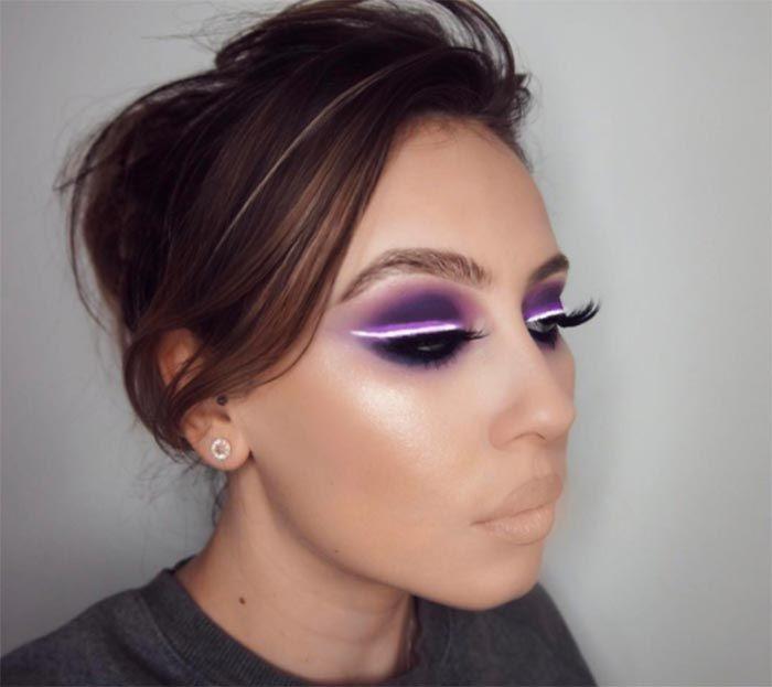 Neon Light Makeup Trend Is Huge On Instagram Light Makeup Light