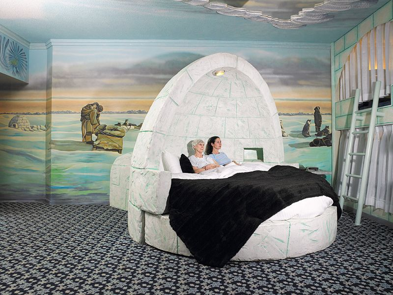 Aqqindex West Edmonton Mall Fantasyland Eskimo Room