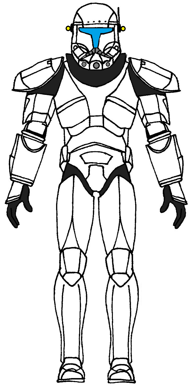 Amazing Star Wars Coloring Pages Clone Troopers Contemporary - Entry ...