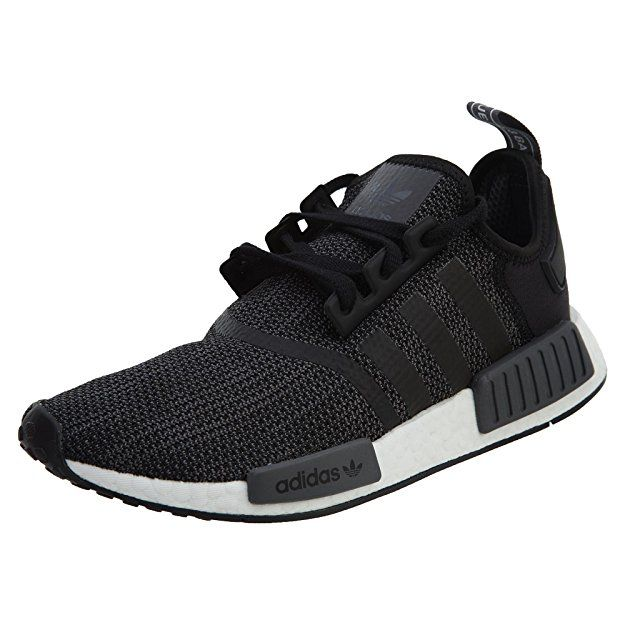adidas Men s Originals NMD R1 Running Shoe Core Black Grey White (8 D(M) US) ae26b9fde
