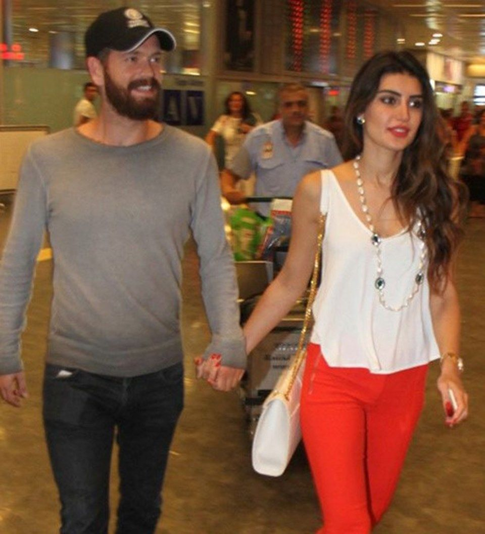 Engin Ozturk And Wife Wife Fashion Actors