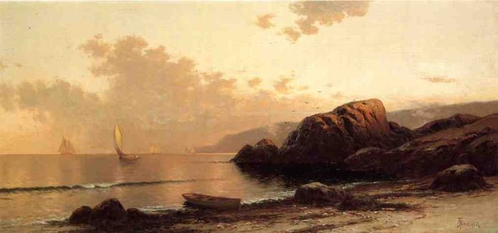 Headlands by Alfred Thompson Bricher #art