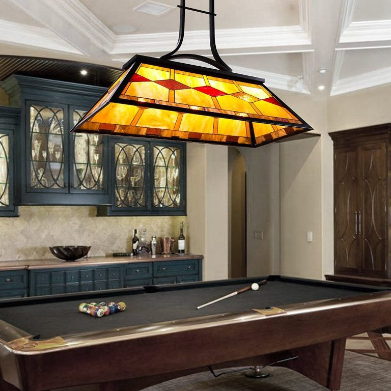 The Best Lighting Fixture For Mancave Pool Table