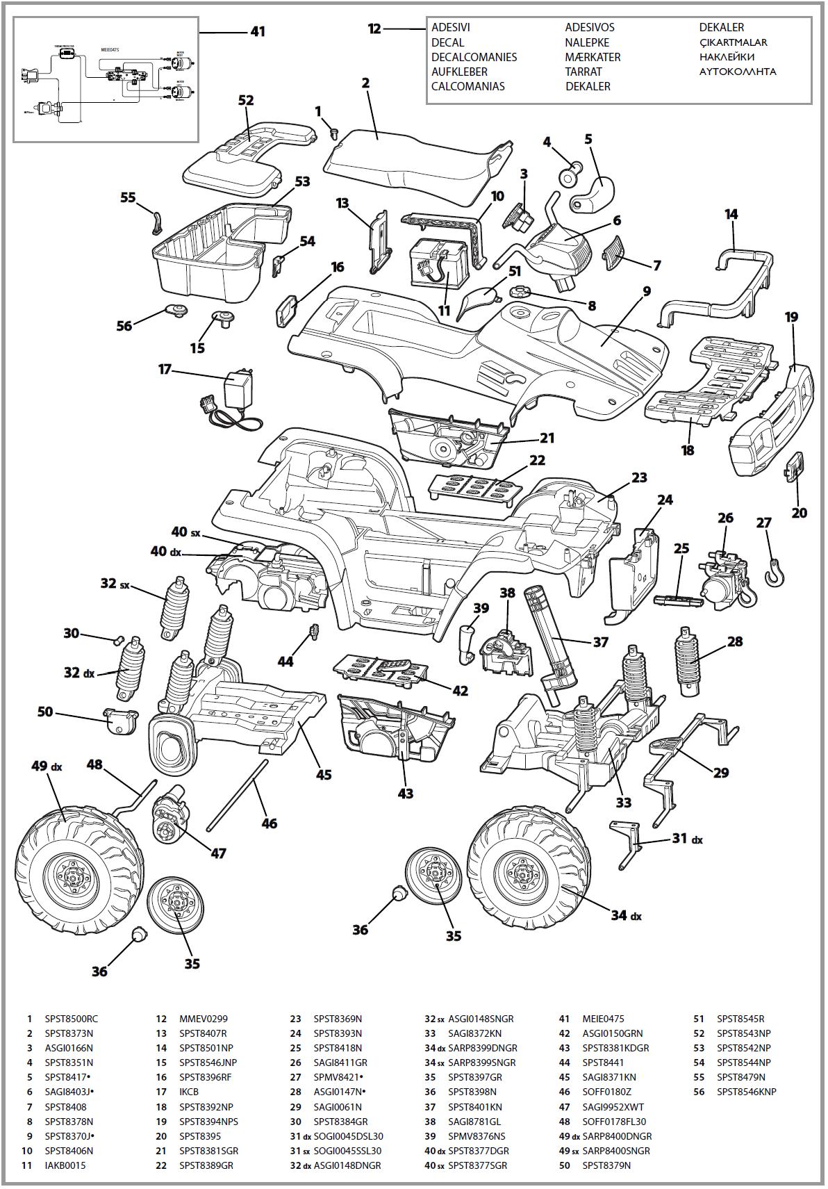 2000 polaris sportsman 500 parts diagram Google Search