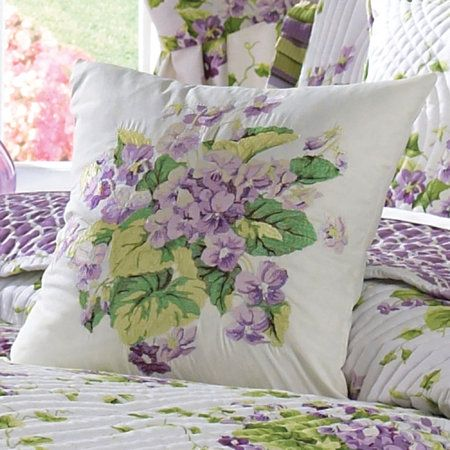 Sweet Violets Floral Quilt Set Bedding By Waverly In 2019
