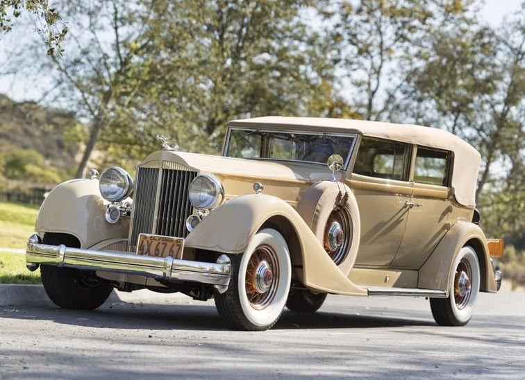 World Of Classic Cars: Packard Twelve Convertible Sedan 1934 – World Of C…