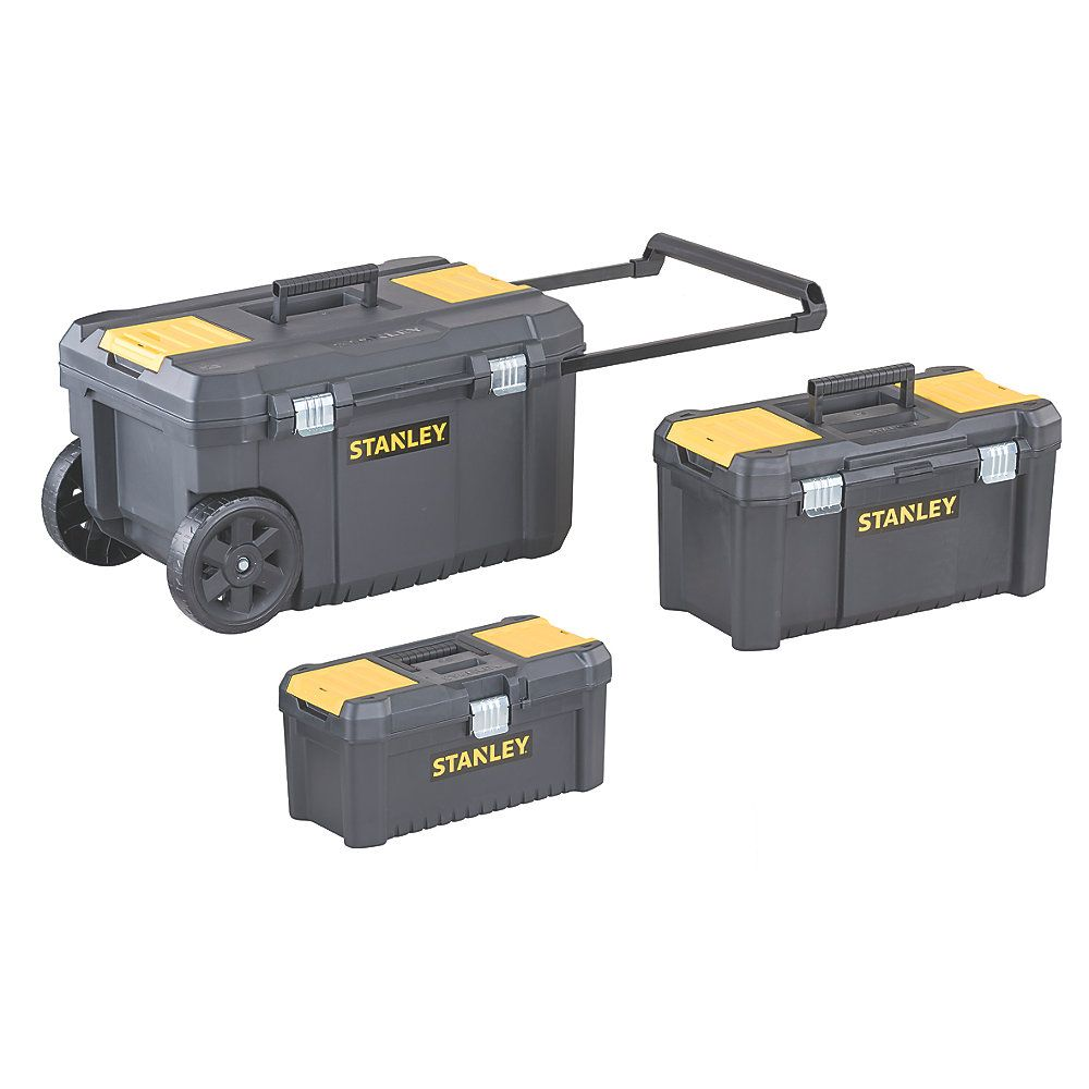 Stanley Tool Chest Bundle Plastic Toolboxes Shopperbe