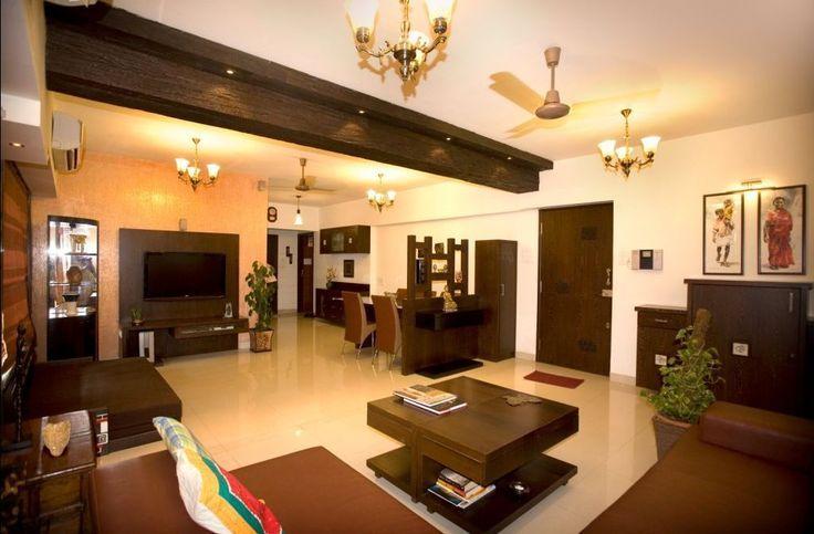Decorating Beam Separating Rooms