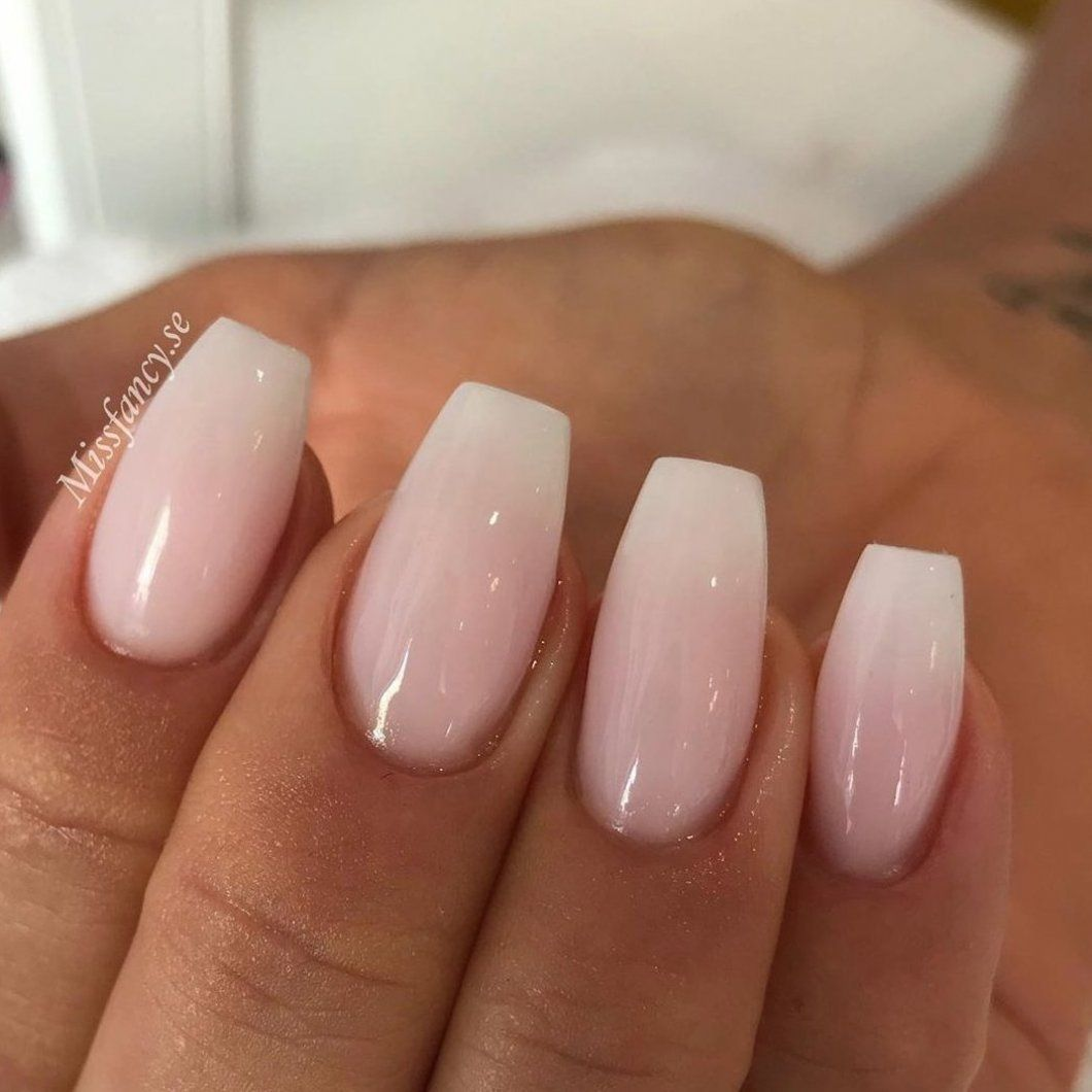 NAGELPRODUKTER on Instagram     Do you like natural nails like these or are you an all in glitter nail art kind of person                                          nails  naglar nailtech        AcrylicNailsClassy #