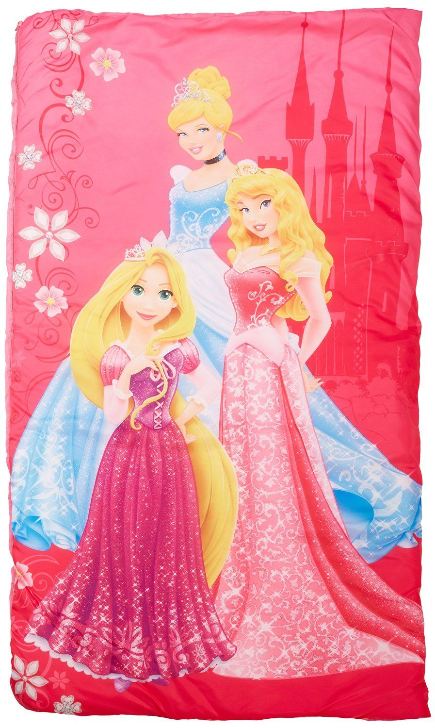 dbe8c6d9a16 Disney Princess Tiara and Jewels 30  x 54  Slumber-Bag with Bonus Carrying  Bag   Awesome product. Click the item shown here   Camping sleeping bags