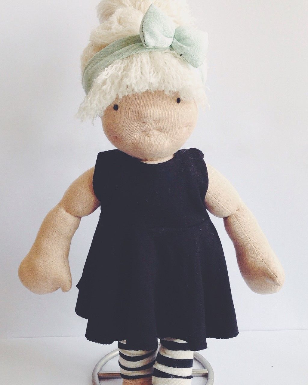 Handmade waldorf inspired doll by Kaisa&Me <3