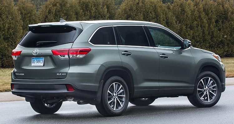 Freshened 2017 Toyota Highlander Gains Power Safety 2017 Toyota