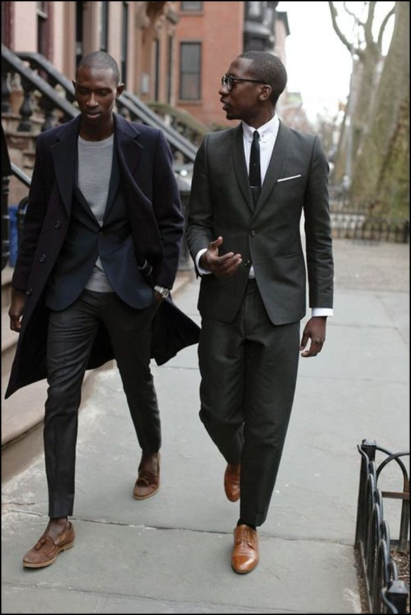 40 Contemporary and Elegant Black Men Fashion Clothing | Black man ...