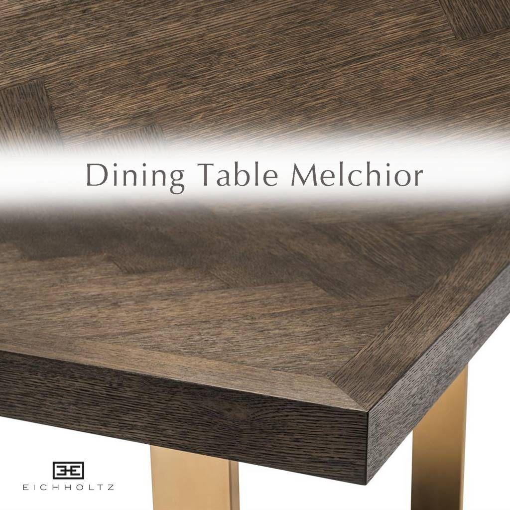 Tafel Eiken 300 Cm.Eichholtz Tafel Dining Table Melchior 300cm Eettafel Bruin