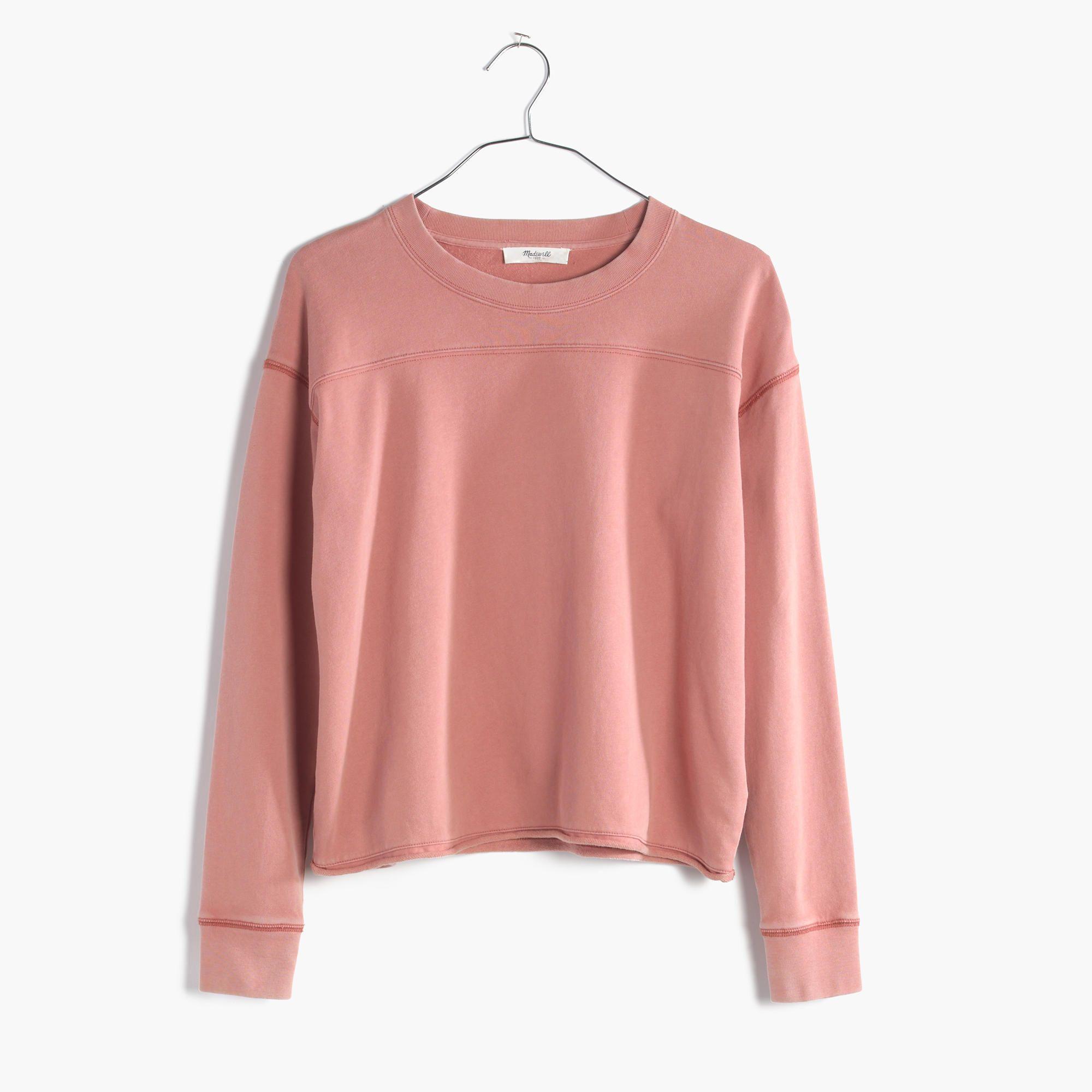 Cutoff Sweatshirt : shop all tees | Madewell