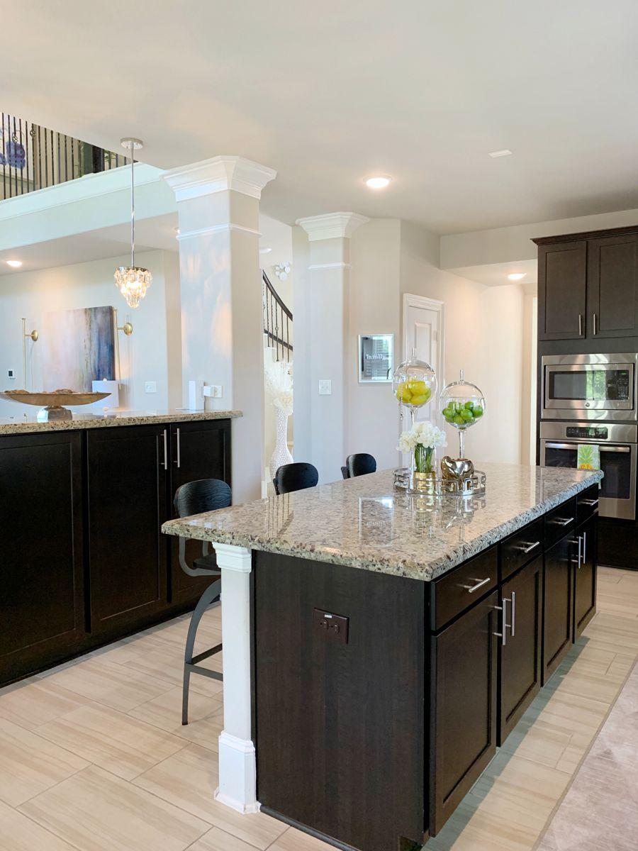 My Kitchen   Espresso Cabinet   Espresso kitchen cabinets ...