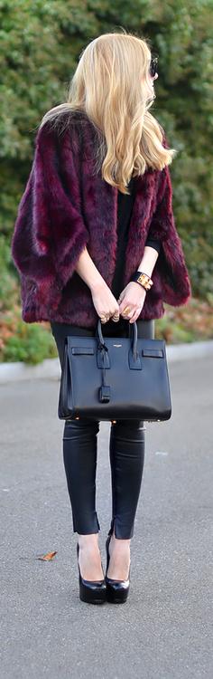 Wine fur / Oh My Vogue