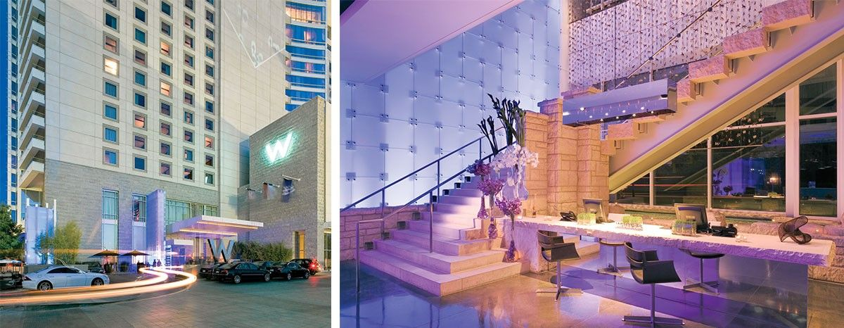Firm: HKS Architects Project: W Dallas Victory Hotel And Residences (Dallas,