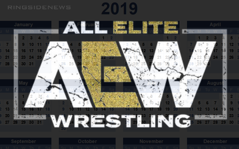 Aew Planning Another Pay Per View Event In 2019 Pay Per View How To Plan Wrestling News