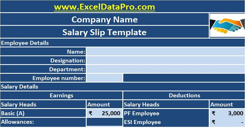 Salary slip or Payslip is a business document issued by the - payslip free download
