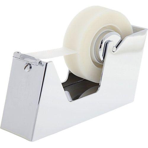 El Casco Tape Dispenser Chrome At The Office