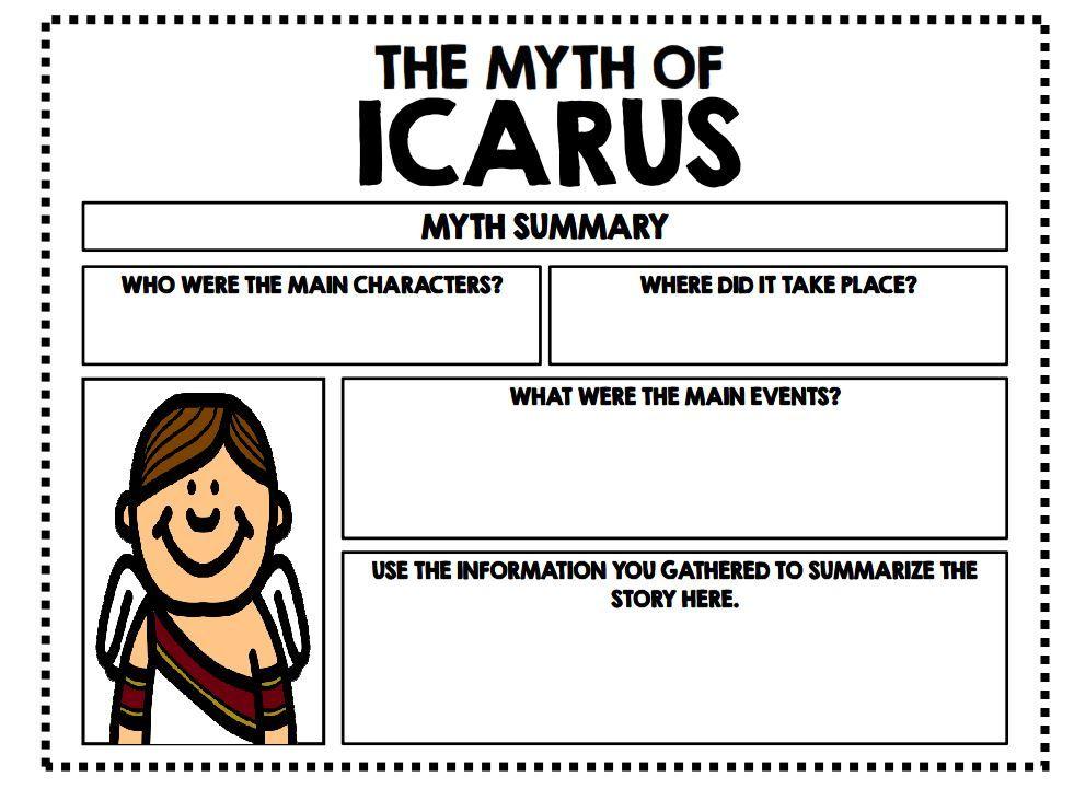 how to write a myth story