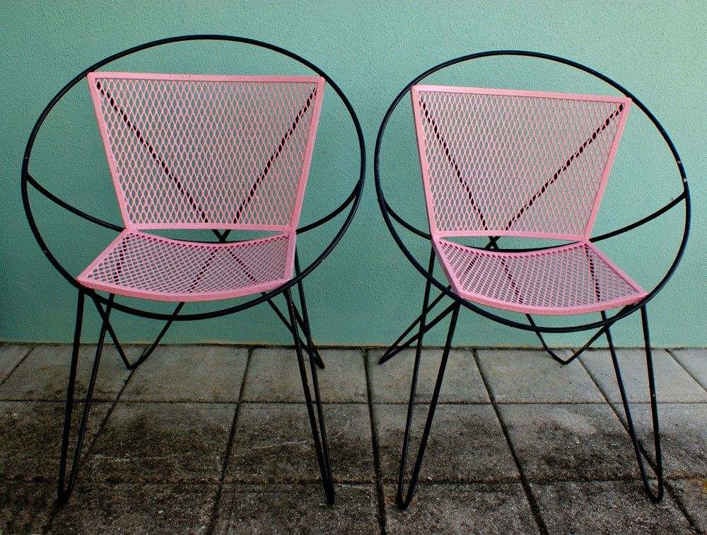 Oh My Gosh These Are Awesome Retro Chair Wrought Iron
