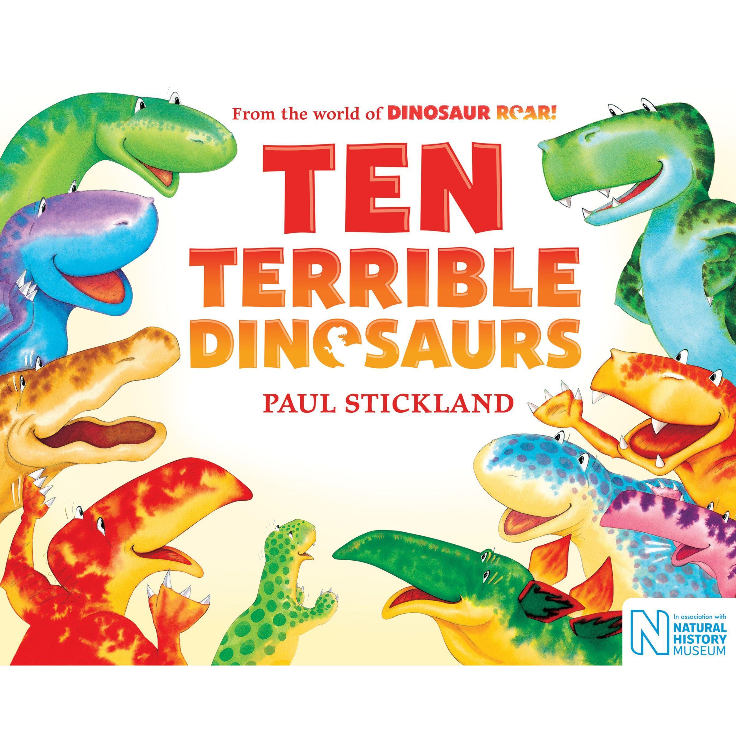 Dinosaur Roar Ten Dinosaurs Children S Books