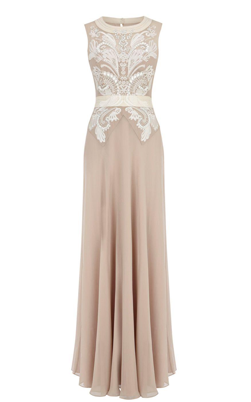 Cutwork and bead maxi dress from Karen Millen  Dresses
