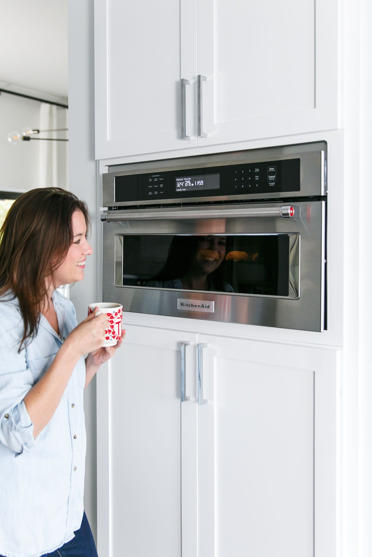 Did You Know Can Crisp Bacon To Your Preference Using The Kitchenaid Microwave Oven With Convection Cooking Loveandoliveoil Shares More Foods