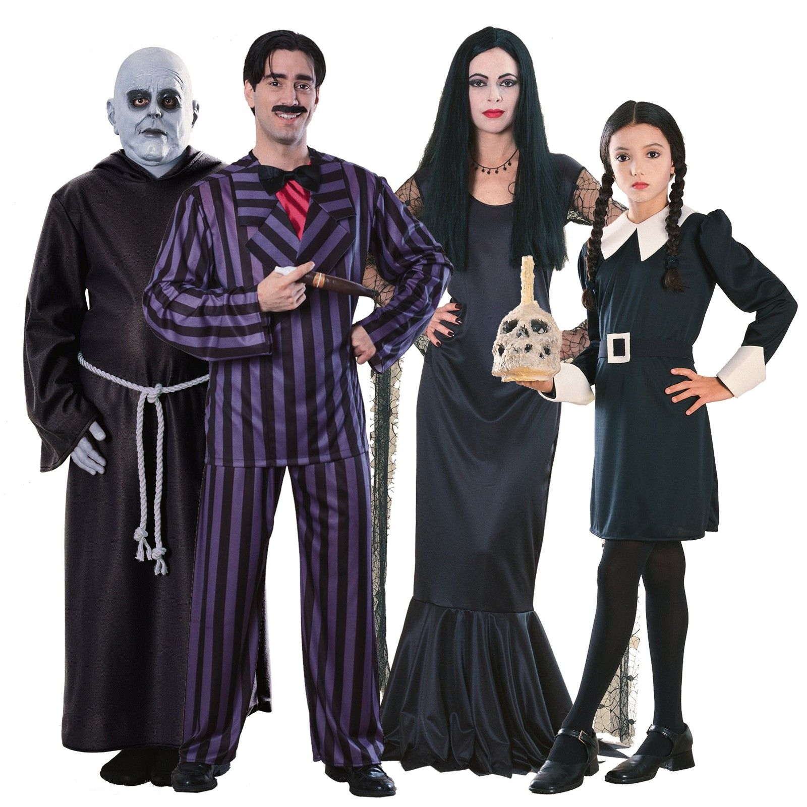 The Addams Family Group Costumes 804855 | Halloween | Pinterest ...