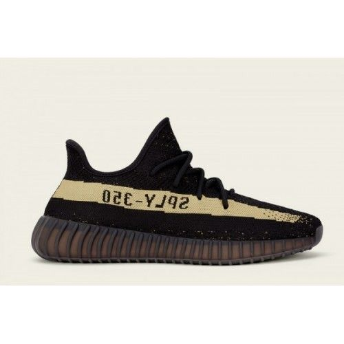b62976182ee6 Adidas Yeezy Boost - Basket Adidas Yeezy Boost 350 V2 Femme Core Noir Vert  Core Noir Pas Cher