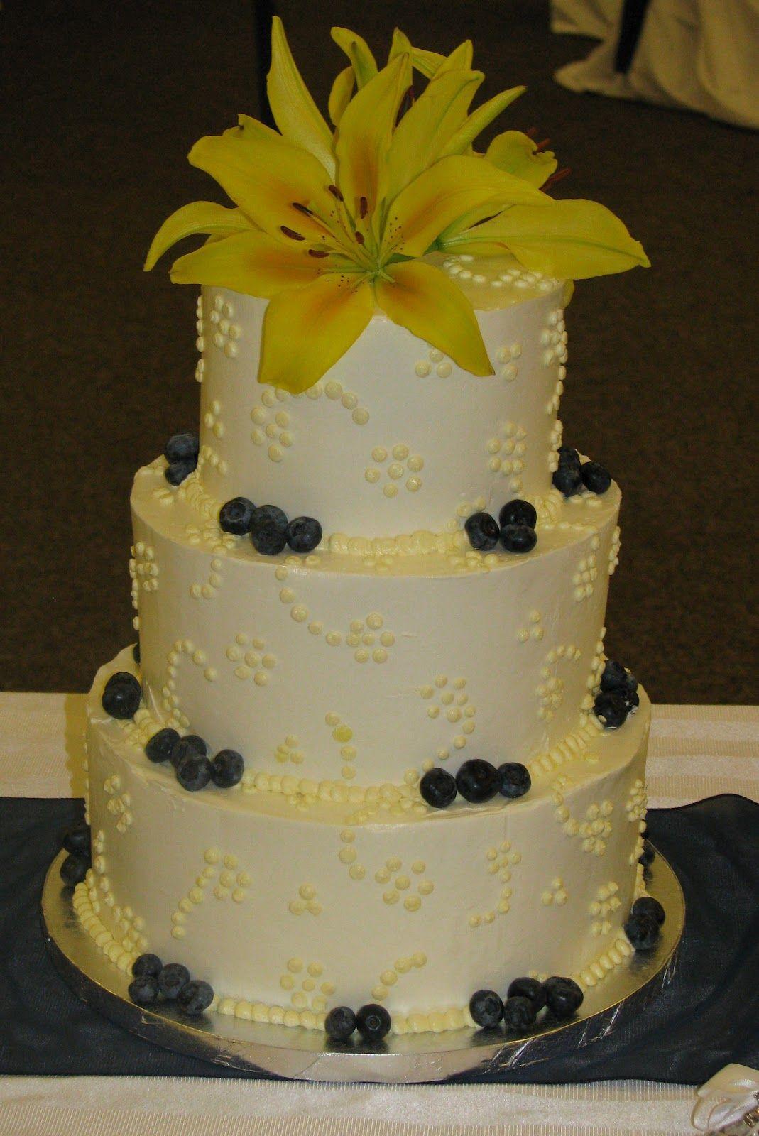 Bake Me A Cake Lemon Blueberry Wedding Cake Different