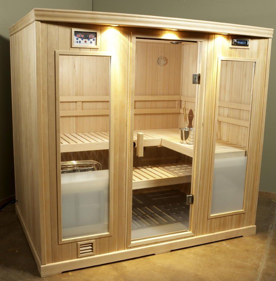 Sauna heaters for steam saunas portable saunas saunas for Sauna home